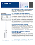 Error-Free Sample Retrieval with Wheaton's Wide Mouth Glass Ampules